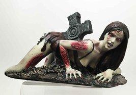 Walking Dead Zombie Stripper Sexy Vixen Girl Sculpture - £21.40 GBP