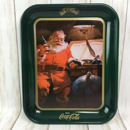 "Christmas Holiday Coca Cola ""Dear Santa"" Tray 1963 Reproduction"