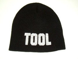 "TOOL 2004 Embroidered Black Beanie Hat Cap ""Tan"" - $9.95"