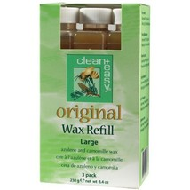 Clean + Easy Large Original Wax Refill- 3 pk