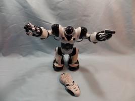 "WowWee Robosapien Large White Humanoid Robot Remote Control 14"" Toy Moto... - $39.19"