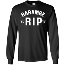 Harambe RIP 2016 Long Sleeves Tshirt - $12.95+