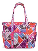 Vera Bradley Signature Cotton Get Carried Away Tote, Modern Medley image 2