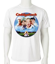 Caddyshack Dri Fit graphic T-shirt microfiber 80s movie golf UPF 50 Sun Shirt image 2