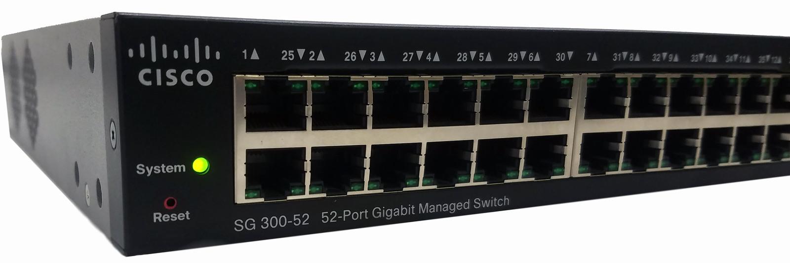 Cisco sg300 52 001