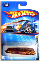 Hot Wheels - Wild Thing: Demonition #4/5 - Collector #151 (2004) *Burgundy* - $1.75