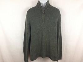 Polo Ralph Lauren Pullover Sweater Size XL Cotton/Acrylic/Hemp Blend Elbow Patch - $23.99