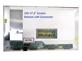 Hp 647152-001 Laptop Screen 17.3 Led Bottom Left Wxga++ 1600x900 - $76.99