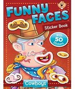 Funny Faces Sticker Book: Cowboys (Funny Faces Sticker Books) [Paperback] Beaver - $8.55