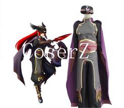 Blazblue Tsubaki Yayoi Cosplay Costume - $117.00