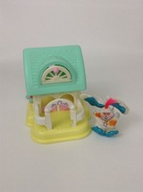 Smooshees Country Cuddlers 7225 Stable Fisher Price w Bunny Plush Vintag... - $16.88