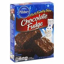 Pillsbury Brownie Rich Chocolate Fudge, 18.4 oz (Pack of 2) - $13.99