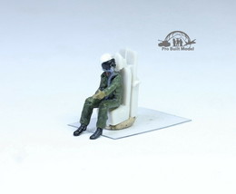 Seated Jet Pilot (seat is not included) 1:72 Pro Built Model #1 - $14.83