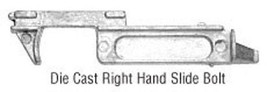 CRL Right Hand Slide Bolt for Drop-In Style Triple Track Window Frames - $19.75