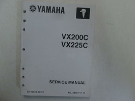 Yamaha VX200C VX225C Service Repair Shop Manual LIT-18616-02-74 Factory ... - $89.09