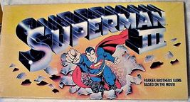 Parker Brothers Superman III Board Game 1982 Vintage - $49.95