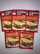 McCormick Chicken Taco Seasoning Mix 1oz X 5 - $24.75