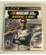 NASCAR The Game: Inside Line (Sony PlayStation 3, 2012) PS3 Game Complete - $14.99