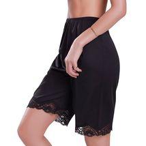 New Women's Premium Illusion Classic Trouser Pants Half Slip With Lace Trim 1037 image 6