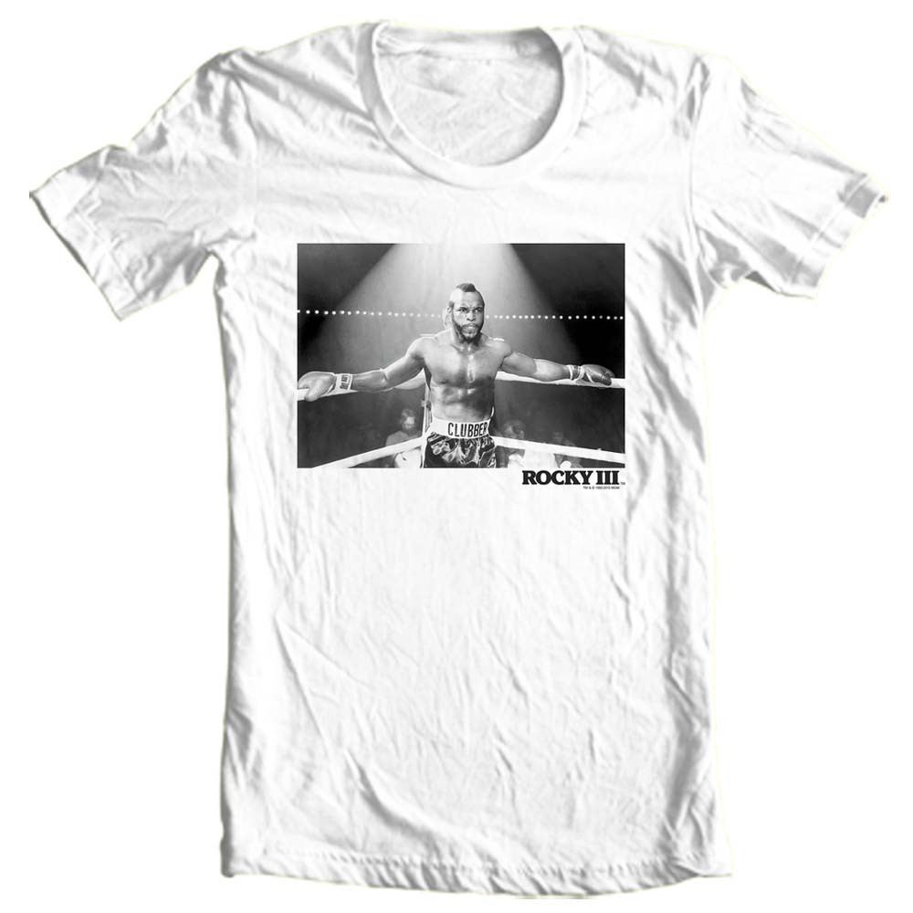 Mr t rocky movie t shirt 80s boxing