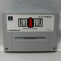Nintendo Super Famicom Live A Live SHVC-5V SQUARE Video Game From Japan - $29.69