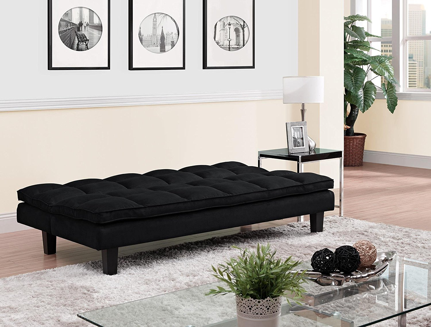 Dhp Allegra Pillow Top Futon Black And 50 Similar Items 81mvbzwmj9l Sl1500