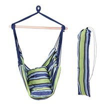 Inspired Home Living Large Deluxe Brazilian Hammock Chair KIT- Hanging R... - $48.64
