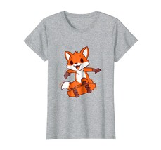 Cute Cartoon Fox T-Shirt  Adorable Funny Animal Tee - $19.99+