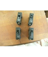 1#M   Siemens ITE Q120 Circuit Breakers 20Amp 1 Pole 120 VAC (Lot of 4) - $19.79