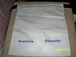 PROENZA SCHOULER Drawstring Dust Bag Purse Handbag Shoes Storage 12 x14 - $15.83