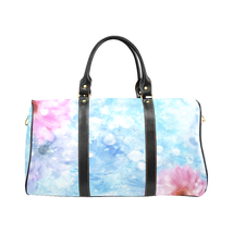 Spring '19 Flower Pattern Gucci Style Large Travel Bag Custom Handmade W... - $129.97