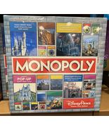 Disney Parks Theme Park Edition Monopoly Game Pop Up Castle Newest - $79.90