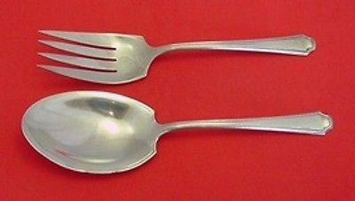 Primary image for Lady Constance by Towle Sterling Salad Serving Set 2pc All Sterling 9 1/2""