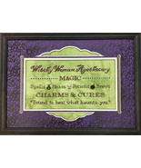 Witchy Woman Apothecary halloween cross stitch chart Foxwood Crossings - $8.00
