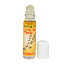 Blessed Holy Anointing Oil Scented with Myrrh Roll-on 10 ml Gift from Ho... - $7.99