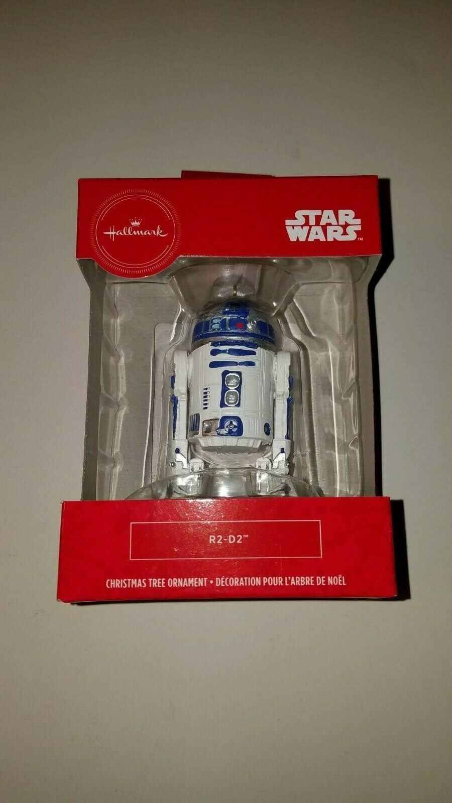 Primary image for Hallmark ornament disney star wars r2-d2  new in box christmas decor