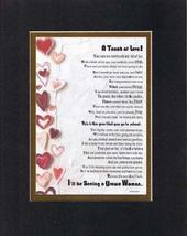 Touching and Heartfelt Poem for Daughters - A Touch of Love (For Daughter) Poem  - $15.79