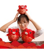 Lucky Piggy of 2019 Year Chinese Zodiac Symbol Pig Plush Soft Toy Decora... - $9.49+