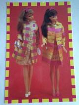 Barbie VTG Postcard Barbie Doll Collector Christmas Gifts Hippie Boho Z8 - $11.63