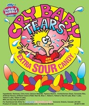 CANDY Dubble Bubble Cry Baby Tears Extra Sour 5lbs - $22.75