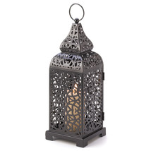 Moroccan Tower Candle Lantern - $19.99