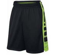 NEW NIKE HYPER ELITE STRIPE 718378 BLACK GREEN ... - $24.99