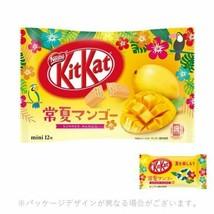 Japanese Kitkat Nestle Chocolates Summer Mango favor 12 bars From Japan - $14.28