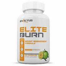 Invictus Labs Elite Burn Weight Loss Management Garcinia 60 cap Exp 03/22 - $9.50
