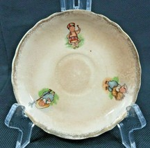 Antique Sterling porcelain child n toys saucer - $18.00