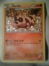 Sandile Holo Rare 8/12 Mcdonald Promo Collection NM- See Pic Sleeved In Card Svr - $6.80