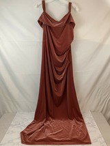 NWT Davids Bridal DB Studio Dress SZ 16 Wedding Reception Off Shoulder K... - $56.42