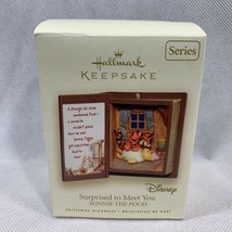 Hallmark Keepsake Ornament Winnie The Pooh Series Surprised To Meet You ... - $16.82