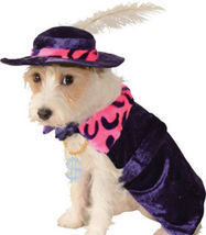 Amazing Purple Pet Dog Costume: Mac 'Sugar' Daddy Flamboyant Cape/Hat, R... - $14.99