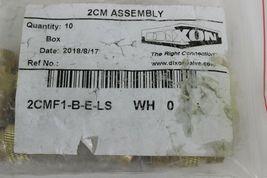 Dixon 2CMF1-B-E-LS CM Mold Unvalved Female Coupler  1 Bag of 10 Couplers  image 3